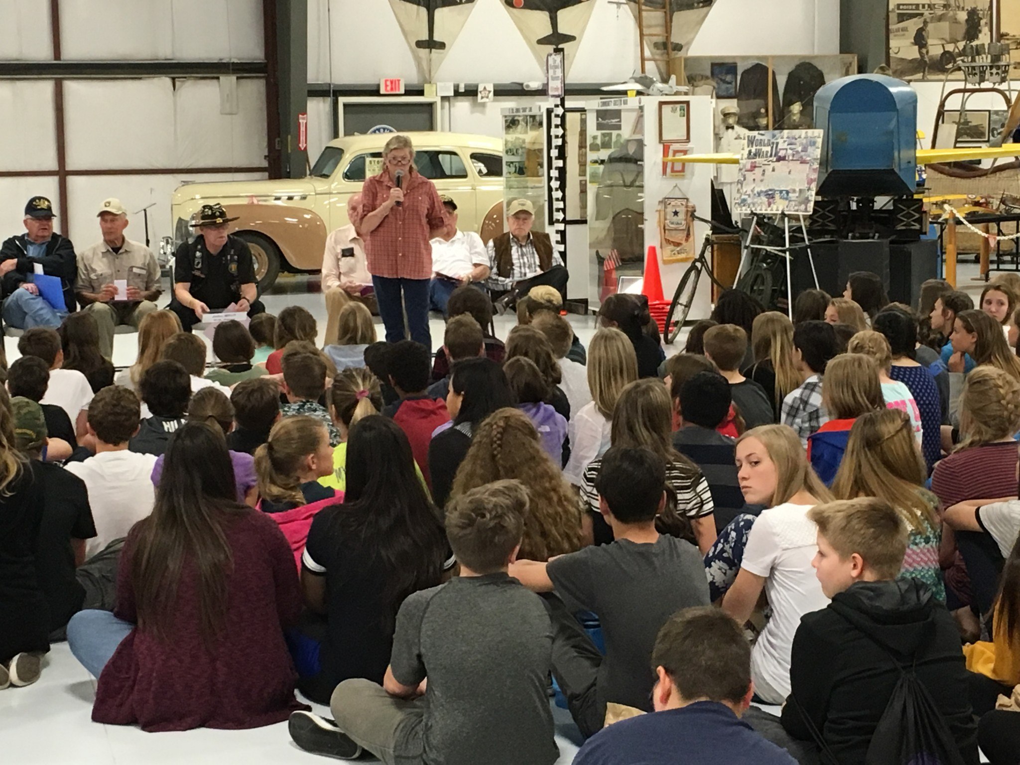 Warhawk Air Museum education programs