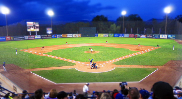 The Boise Hawks play at Memorial Stadium.  Nagel Beverage was the team's first sponsor in 1987.