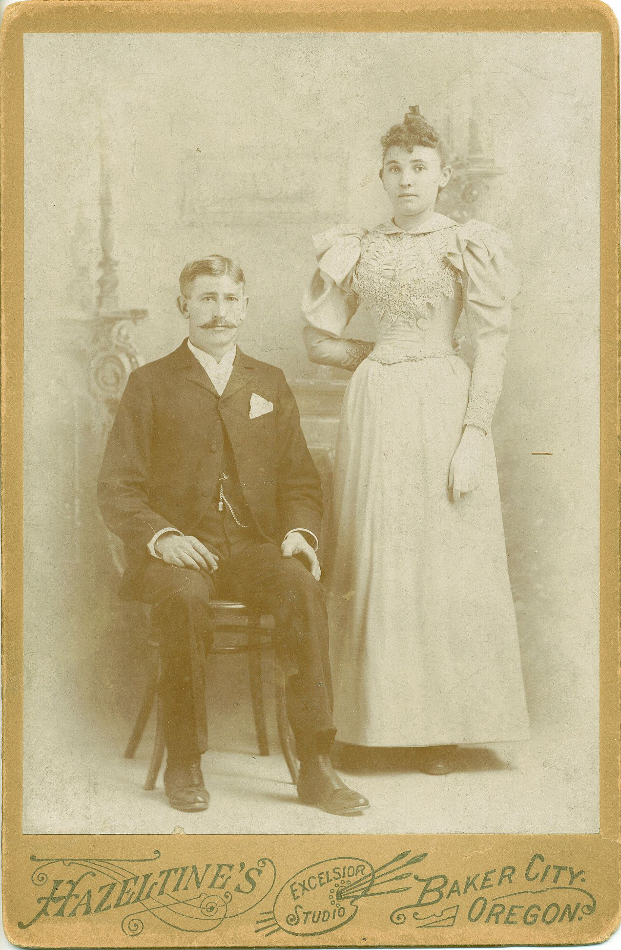 John H. Nagel married Louise in San Francisco