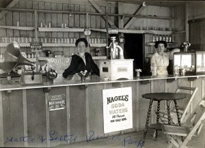 Pierce Park store, about 1920