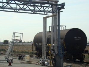 Rail tank cars deliver High Fructose Corn Syrup