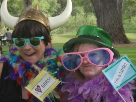 "Big Brothers/Big Sisters annual summer picnic brings ""bigs"" and ""littles"" together for food, fun and some silliness too."