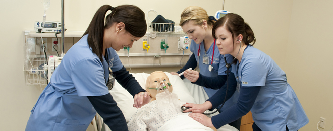 The Boise State nursing scholarship program is the single largest funded program in foundation history.