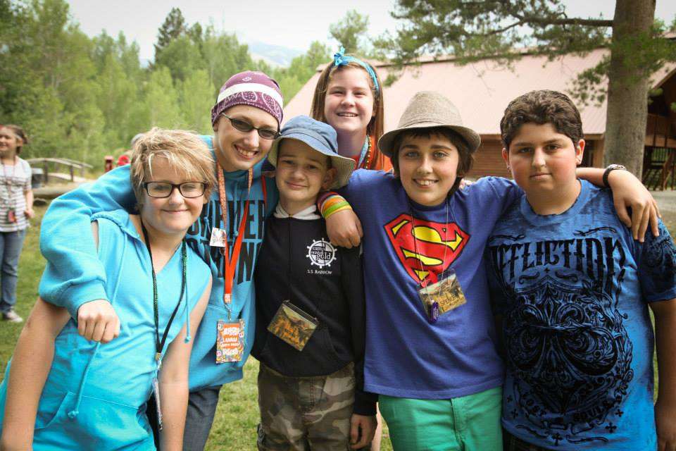 Camp for teenagers with cancer is one of three camps held by Camp Rainbow Gold each summer.