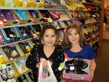 Assistance League of Boise gives needy children clothing and new shoes as part of Operation School Bell.