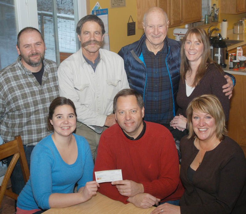 Shepherds Home board members receive a grant to sustain their mission of providing a safe haven for children in need.