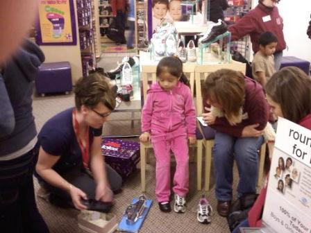 The foundation has funded the Salvation Army Dress a Child event in Boise and Nampa since 1991.